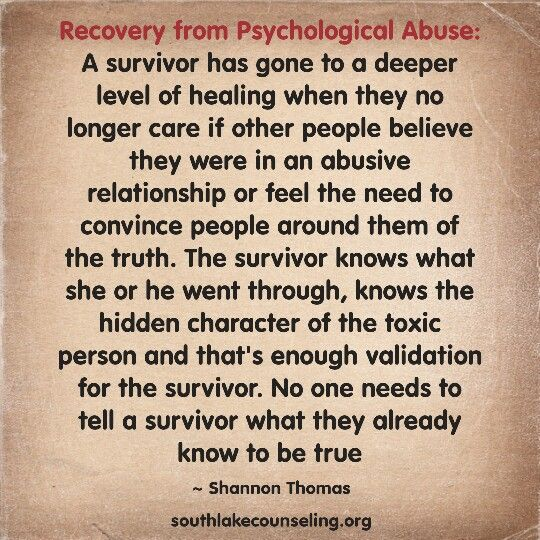 Understanding narcissism and abusive relationships