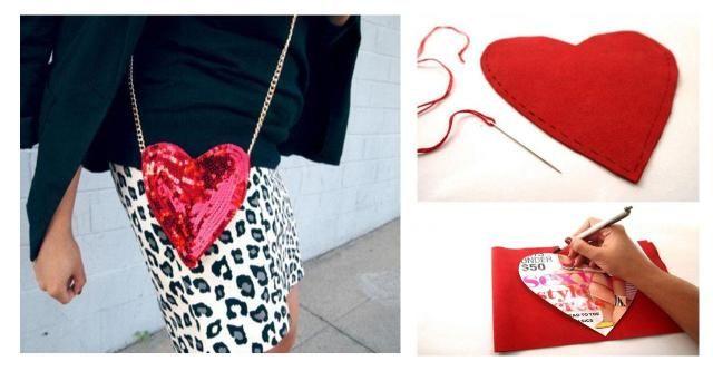 Modowe DIY: Torebka - serce, którą zrobisz za grosze #TOREBKA #SERCE #DIY #ZRÓB TO SAMA #KROK PO KROKU