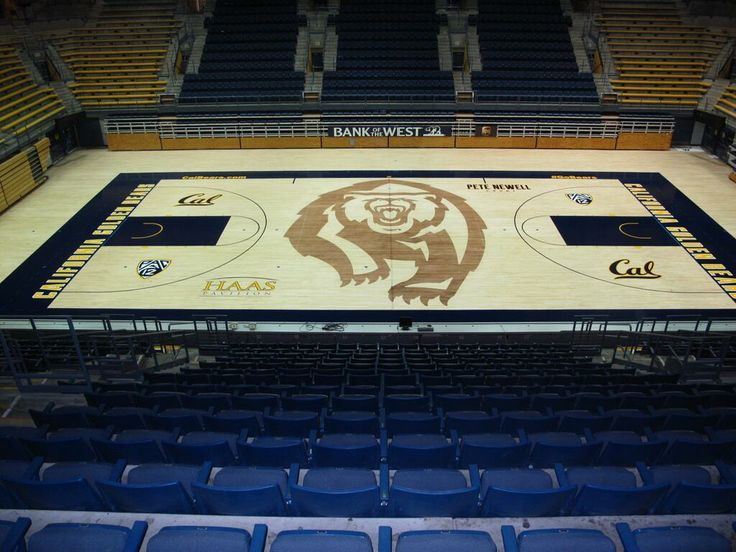 California Golden Bears Redid Their Basketball Court In 2013