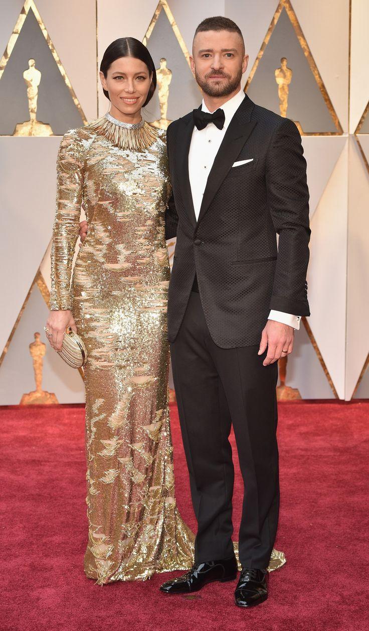 The Academy Awards 2017 Justin Timberlake Jessica Biel