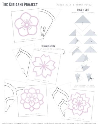 Omiyage Blogs: The Kirigami Project - stencils