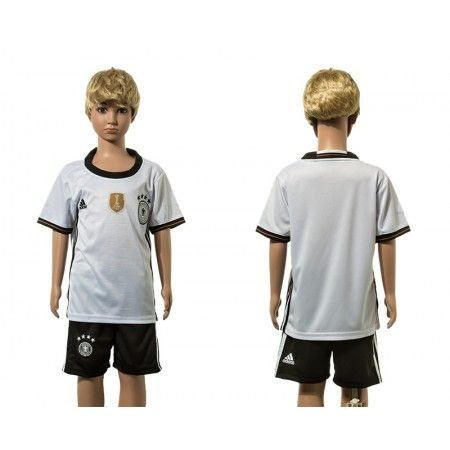 #Tyskland Trøje Børn 2016 Målmand Hjemmebanetrøje Kort ærmer.199,62KR.shirtshopservice@gmail.com