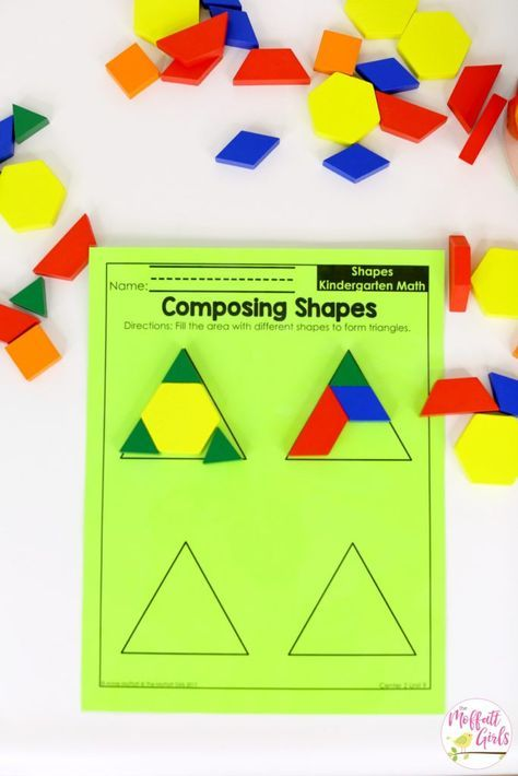 Kindergarten Math Curriculum Shapes Education Kindergarten Math