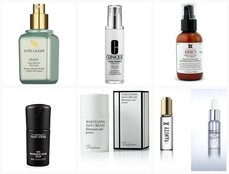 De bedste produkter mod pigmentering og ujævn hudtone - især Kiehl's