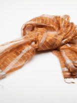 Copper colored silk For Mon