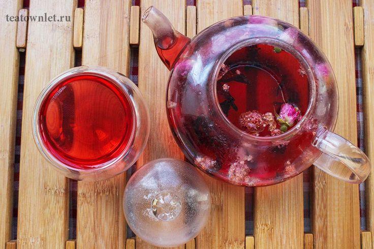 Цветочно-ягодный чай - http://teatownlet.ru/retseptyi/tsvetochno-yagodnyiy-chay.html