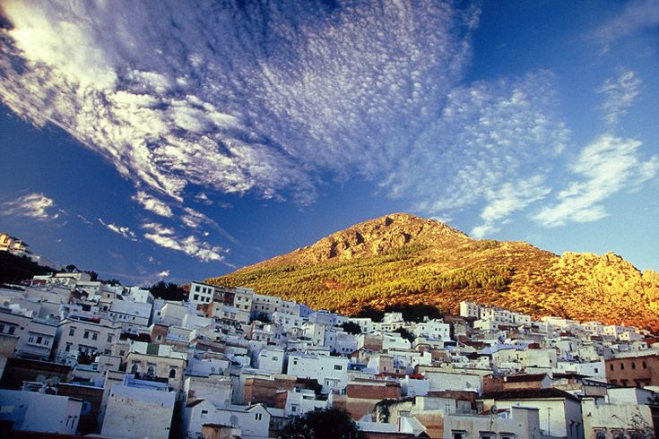 Chefchaouen Sky Blue Town In Morocco Beautiful Places To Visit