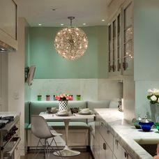 Transitional Kitchen by Penny Drue Baird, Dessins LLC