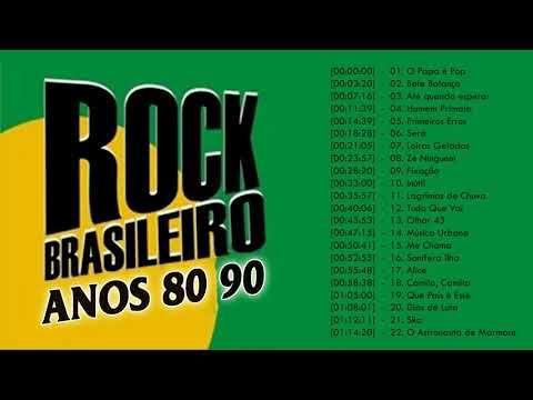 Rock Brasileiro Colecao Anos 80 90 Melhores Musicas Rock