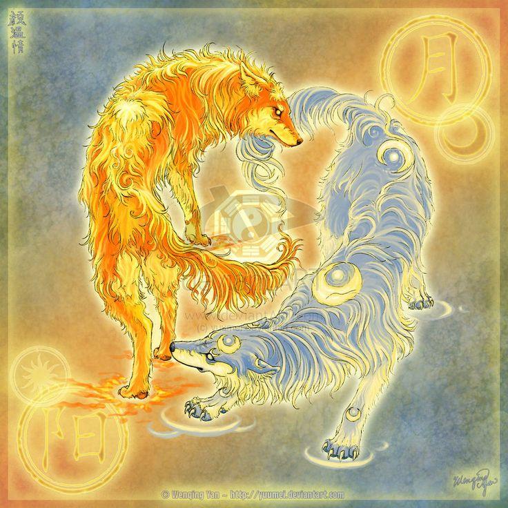 elemental wolves | Elemental Wolves - Wolves Fan Art (23585253) - Fanpop fanclubs