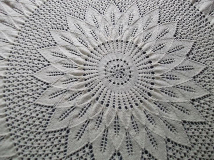 Part of baby Shawl
