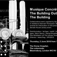 Bioni Samp - Live at Music Concréte: Of The Building Outside The Building Horse Hospital London 2016 by beespace on SoundCloud