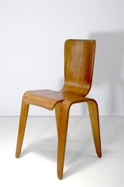 Hans Pieck; Bent Plywood 'Bambi' Chair for Morris & Co., 1948.