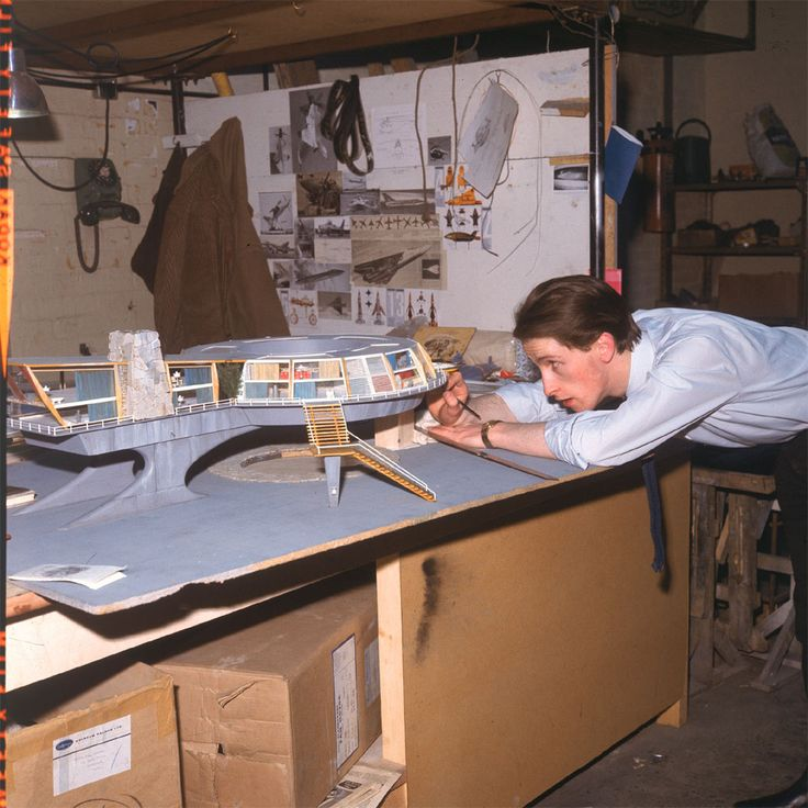 Mike Trim, Special Effects Designer – building the Tracy Round House