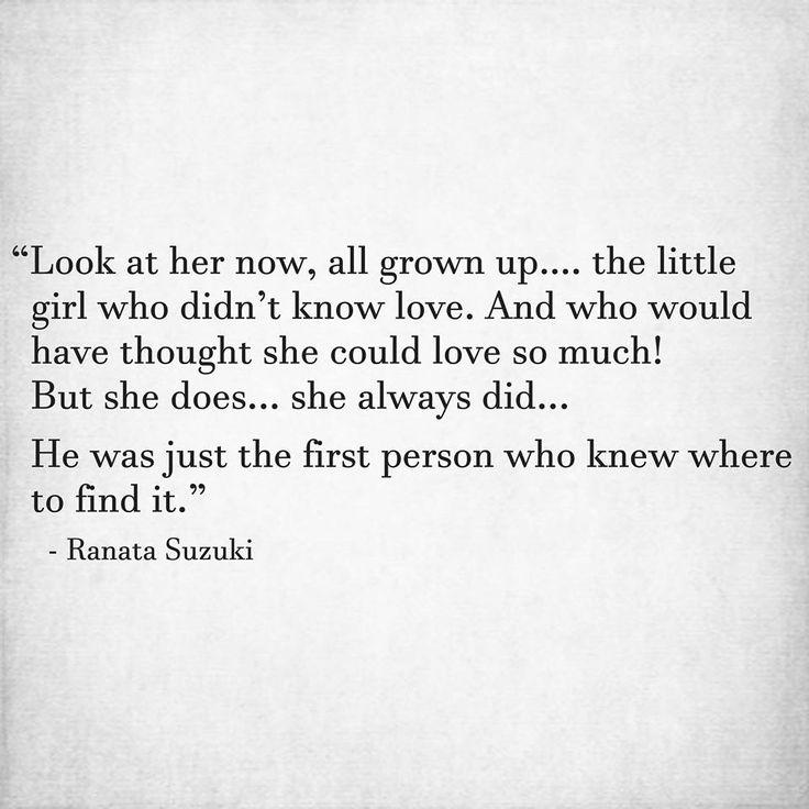 Powerful Little Quote Sad Quotes T: 1053 Best Ranata Suzuki Quotes Images On Pinterest