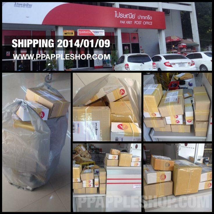SHIPPING 2014/01/09 เช่นเคยกับบรรยกาศการจัดส่งสินค้ารอบ 15:00 ประจำวัน ณ. ที่ทำการไปรษณีย์ http://evpo.st/144gI5y