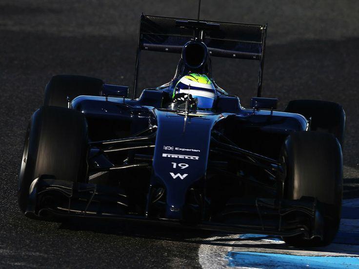 Felipe Massa in the 2014 Williams F1 car