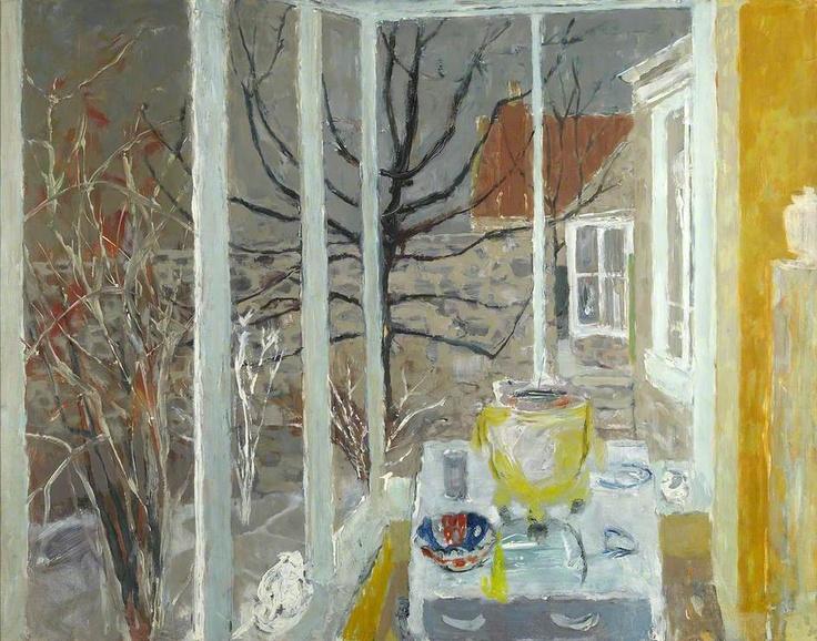 WILLIAM GEORGE GILLIES Studio Window, Temple (c.1967)