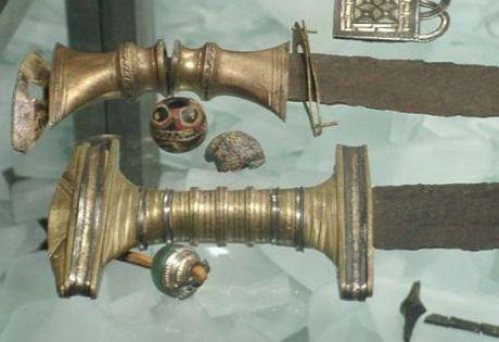 Sword Handles from Ejsbøl Mose