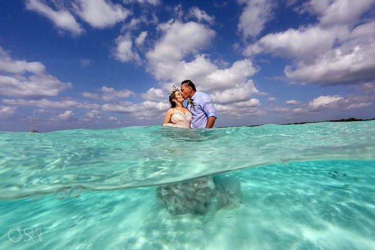 Свадьба посреди моря: прекрасные фото и кольца под водой | Женский журнал Gi-Wom