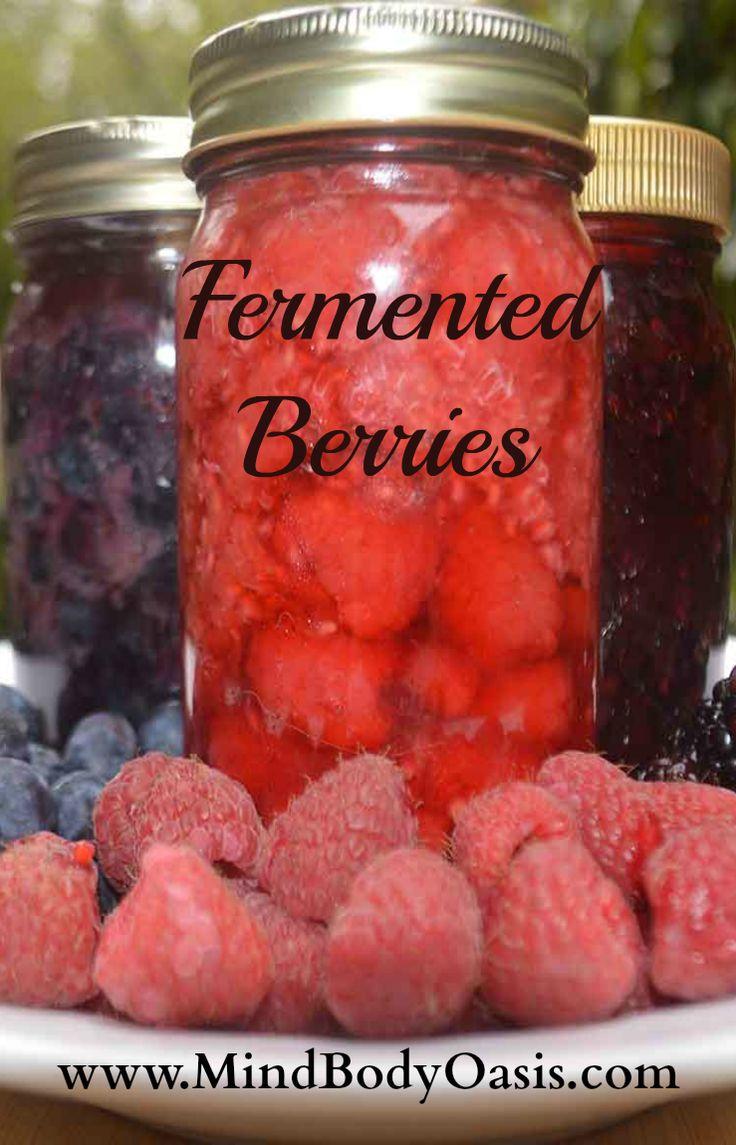 Fermented Berries #fermentedfoods