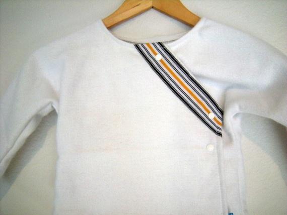 SALE Wool Keiko Kimono Jacket  white by emuenfant on Etsy, $25.00