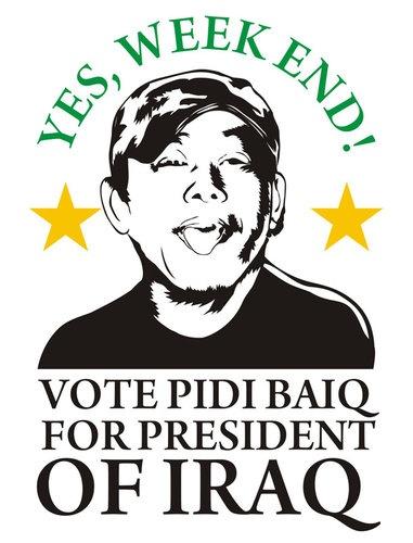 Vote PIDI BAIQ