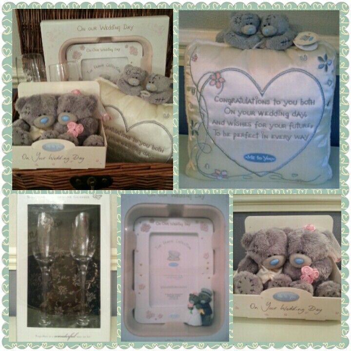 Tatty Teddy's Wedding Hamper, made to order. Visit www.bespokebabyhampers.co.uk  #tattyteddy #wedding #hamper #giftideas