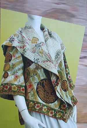 "World Exhibition above the ""silver flower"" / MIEKO MINTZ cloth (09/7/23 - 8/3)"