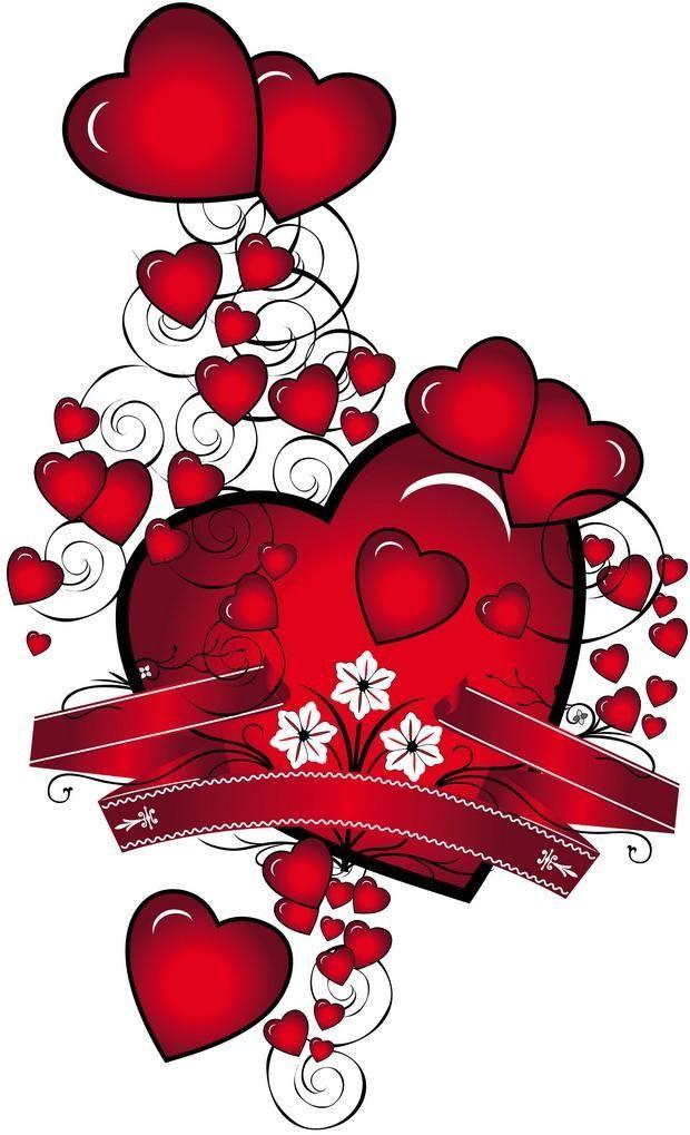 Den Svyatogo Valentina Valentine S Day Prazdniki Otkrytki
