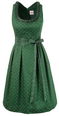 Spieth & Wensky Trachtenkleid Damen mit Streublumenprint in tanne im OTTO Online Shop