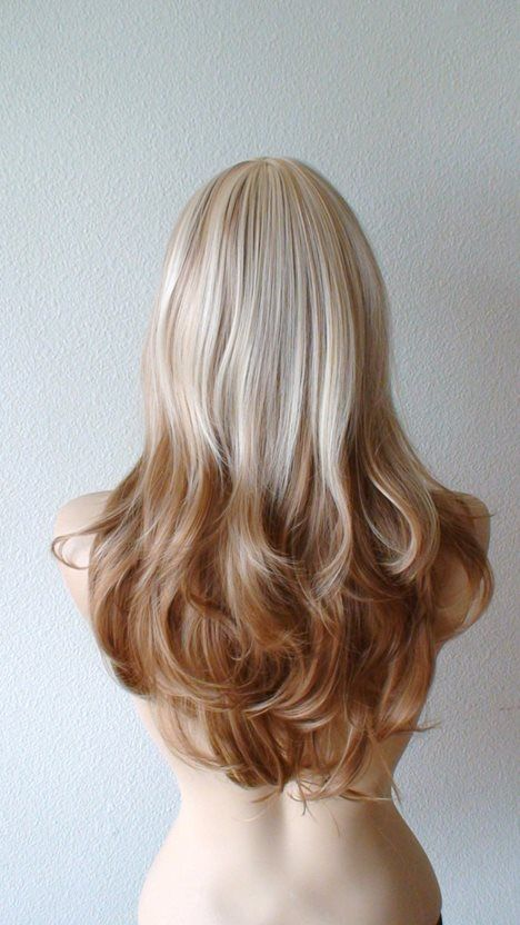 Light Brown To Blonde Ombre Hair Tumblr