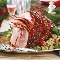 Holiday Ham with a Texas Twist | NomNom | Pinterest