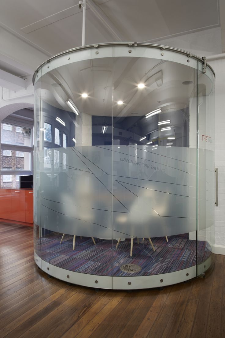 Round Glass Meeting Room In 2019 Home Bar Lounge