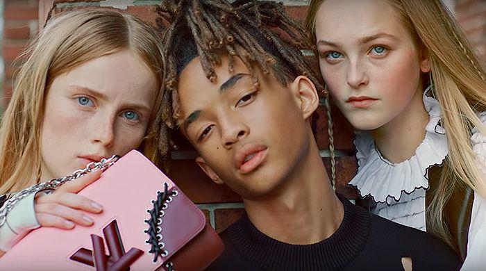 Джейден Смит в новом видео Louis Vuitton