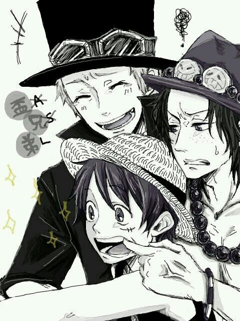 Sabo luffy and ace