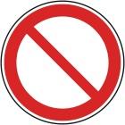 Señales de prohibición: General Señales de prohibición