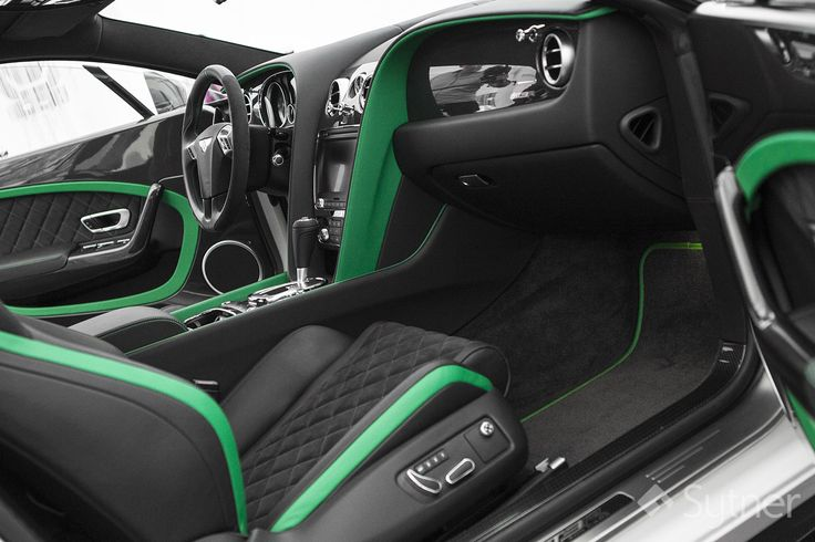 The Beautiful Interior of the Continental GT3-R