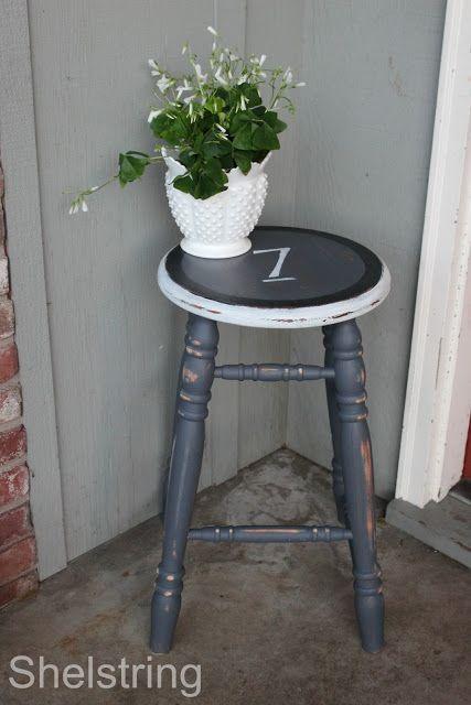 Furniture Refresh Challenge- Lucky Seven