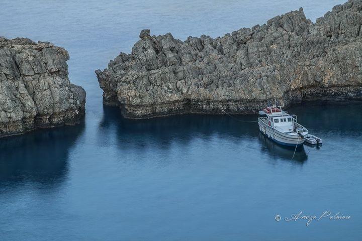 St. Paul's Bay at #Lindos, #winter calmness!  #Rhodes #Rodos #Greece