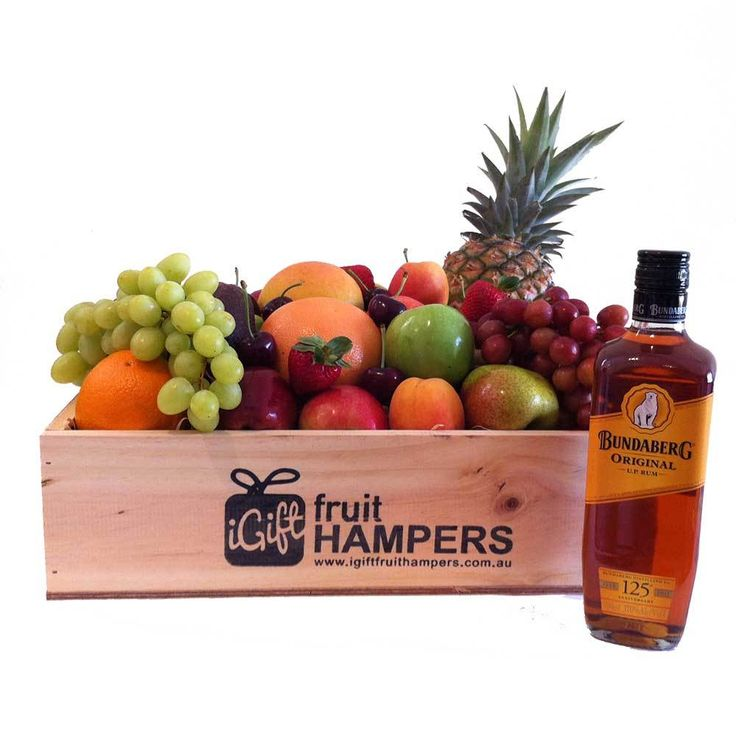 Bundaberg UP Rum Fruit Gift Hamper | Ideal for Fathers Day, Christmas and Birthdays