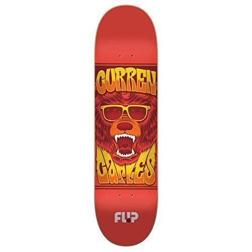 Flip Skateboards Caples Mercenaries Series Pro Skate Board, 31.25 x 8.44″: 8.44in x 31.25in 100% Northern America Maple Medium concave