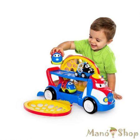 Oball Go Grippers játék autószállító Grumpy + 2 autó Dave és Danny (10314)