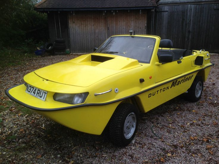 Mariner Car: Dutton Mariner Amphibious Car Amphib Amphicar Twin Jet