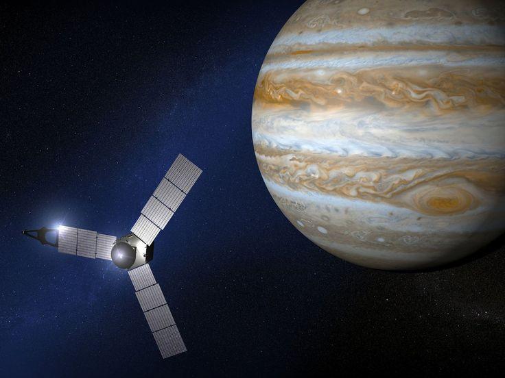 Juno llega a Júpiter tras un viaje de 5 años (@Fenix_Directo) | Twitter