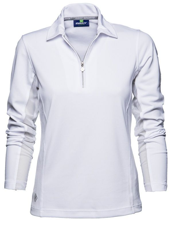 1000 images about women 39 s golf long sleeve polo shirt on for Long sleeve golf polo shirts