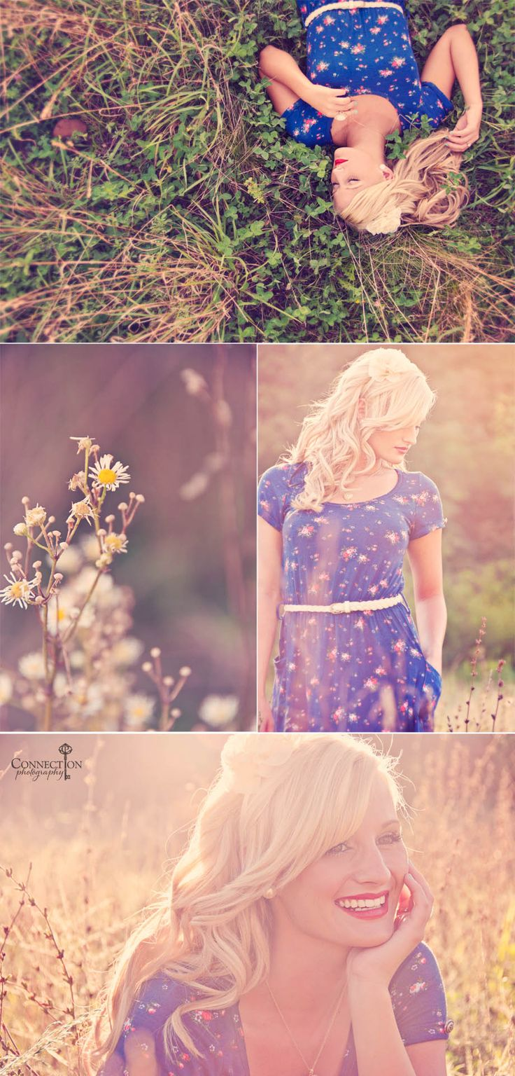 Senior Picture Ideas/ Hair Ideas/ Dress love it all!