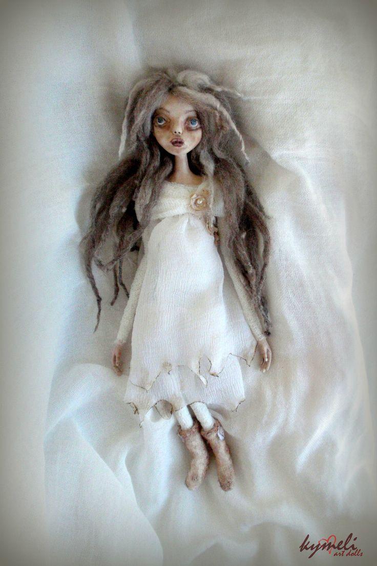 Haunted Agnes OOAk ArtDoll by Kymeli
