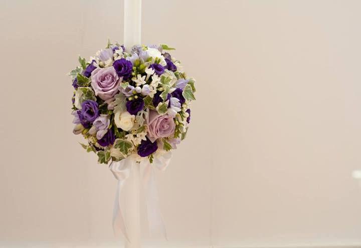 Lumanare botez https://www.facebook.com/FlowersByAna