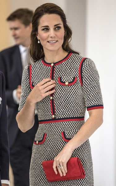 Kate Middleton Photos Photos - Catherine, Duchess of Cambridge attends the new V&A exhibition road quarter at Victoria & Albert Museum on June 29, 2017 in London, England. The V&A Exhibition Road Quarter was designed by British Architect Amanda Levete. - The Duchess Of Cambridge Visits The New V&A Exhibition Road Quarter